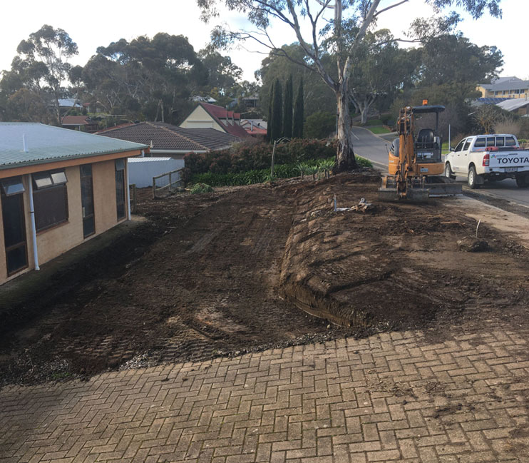 site levelling adelaide