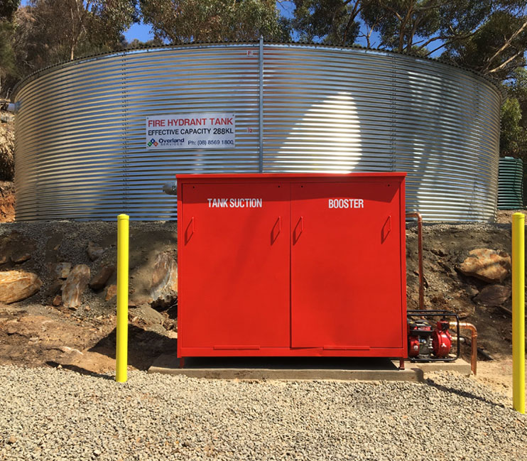 fire water tank supply adelaide