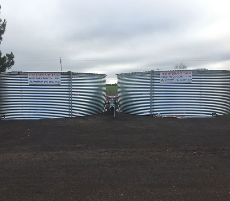 fire water tank installation adelaide