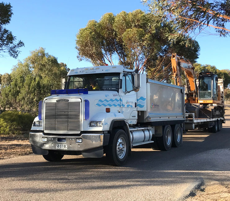 tipper hire adelaide
