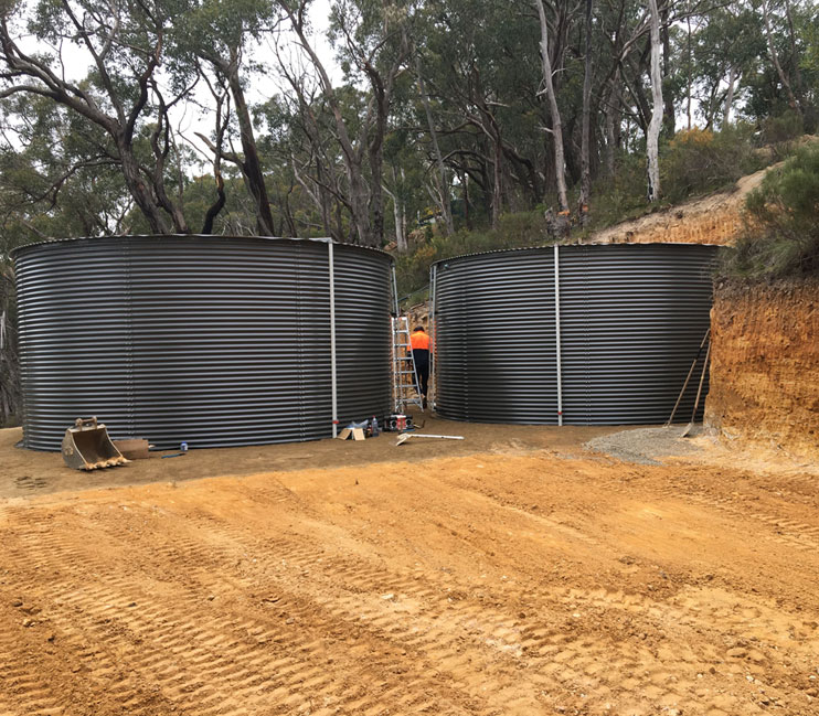 water tank installation adelaide
